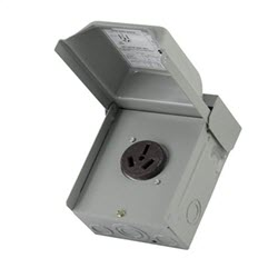 MWP U050 DEF PURPOSE PWR OUTLET 50A 10-50R