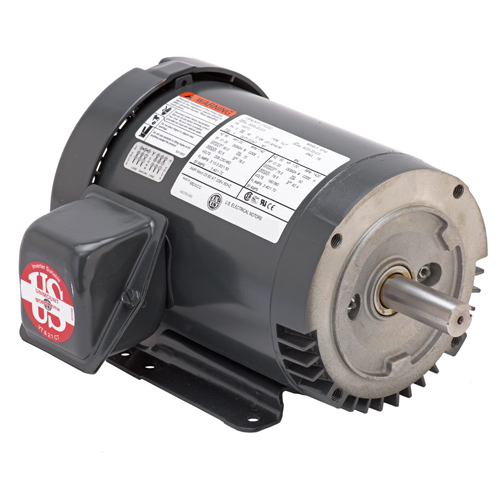 USEM S5P2AC 5HP 1755RPM 208-230/460V 60HZ 184TC 3PH MOTOR