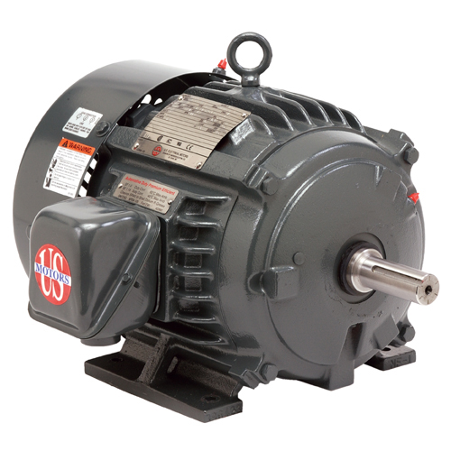 USEM H5P2D 5HP 1760 & 1440RPM 208-230/460 & 190/380V 60 & 50HZ 184T 3PH MOTOR