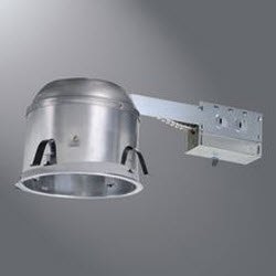 """HALO H27RICAT 6"""" HOUSING SHALLOW CEILING IC AIR-TITE REMODEL 120V"""