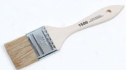 DBC LINZER-1500-2 2IN CHIP BRUSH WHITE BRISTLE