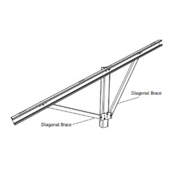 UNIR 404032 GFT DIAGONAL BRACE ASSEMBLY 30D SR