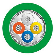 SIEM 6XV18702B CABLE IE FC GP2X2 CA 5 SOLD BY METER 1 METER = 3.28 FEET. MUST SHIP IN METERS ON A CONTINUOUS PIECE ON A SPOOL ORDER 1000 METER SPOOLS
